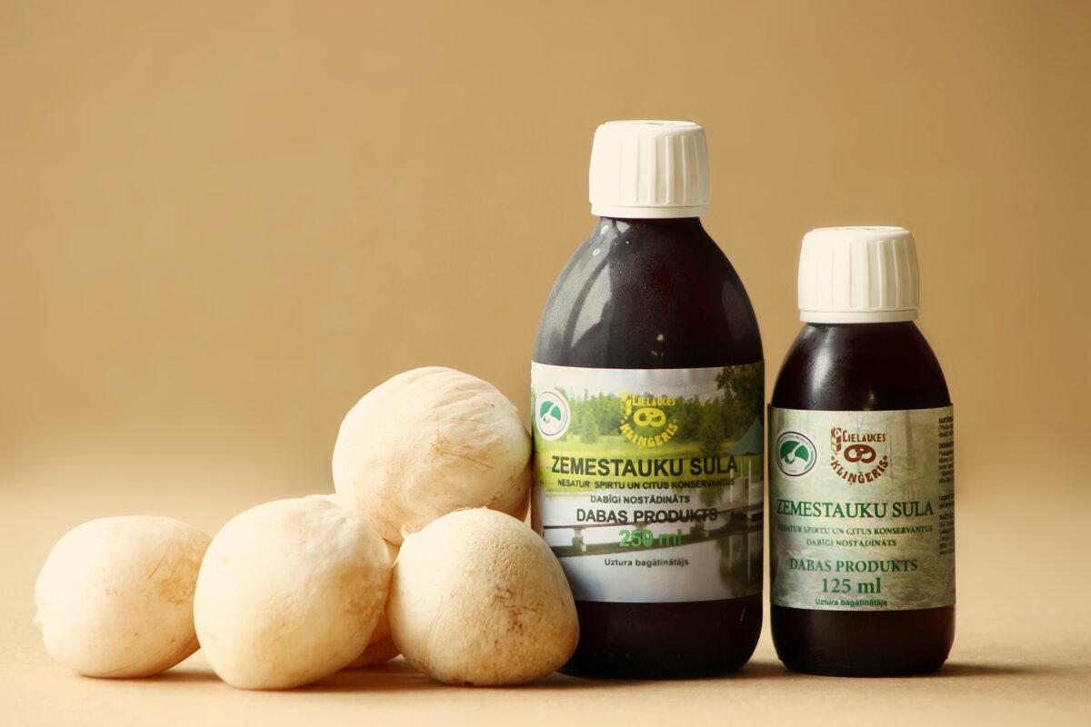 Zemestauku sula BEZ SPIRTA SATURA 250 ml (PVD uztura bagātinātāju reģistra Nr. 11954) PIRKT