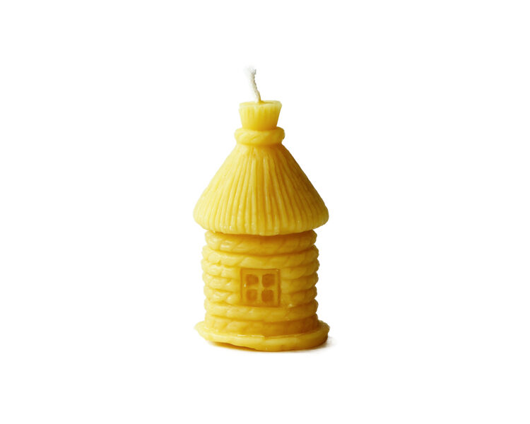 Bišu vaska svece-stropu mājiņa