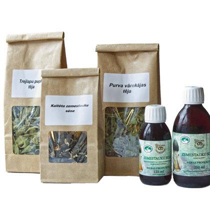 Zemestauki un zāļu tējas